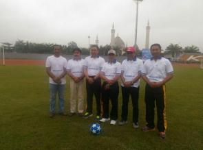 Kapolres Kampar Buka Turnamen Sepakbola Pra Kualifikasi AQUA DNC 2018