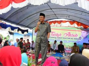 Ustad Abdul Somad, Tidak Ada Jarak Antara Bupati dan Masyarakat