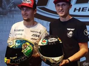 Helm Buatan Indonesia Dipakai di Balapan MotoGP
