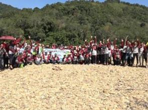 Wisata Sungai Subayang jadi pilihan Rombongan Tamasya RS. Awal Bros