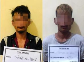 Dua Orang Pelaku Pembunuhan Remaja di Perhentian Raja Kampar Berhasil Diringkus Polisi