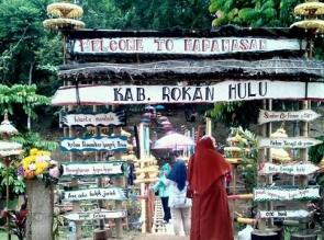 Objek Wisata di Rohul Dikunjungi Puluhan Ribu Wisatawan