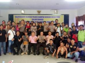 Polres Kampar Gelar Silaturahmi dengan Insan  Pers sambut Hari Pers Nasional tahun 2018