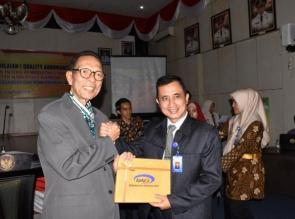 SPIP level 3 yang telah di QA oleh BPKP Riau diserahkan ke Pemkab Kampar