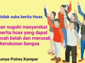 Fenomena Hoax dan Cara Menyikapinya