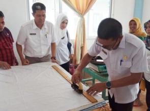 Rumah Batik Muara Takus Mulai Dilirik Konsumen
