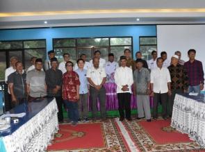 Terkait Pengelolaan Hukum Adat Staf Ahli Kepresidenan Puji Pemkab Kampar.