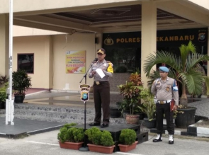 Kapolresta Pekanbaru ingatkan Polri wajib netral dalam tahapan Pilkada.