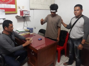 Akan Bertransaksi Narkoba, Warga Simalinyang ini Ditangkap Polsek Kampar Kiri