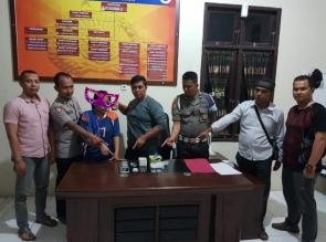 Seorang Wanita Diduga Sebagai Pengedar Narkoba Ditangkap Polisi