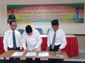 POKJAWAS PAIS Prov Riau Laksanakan Diklat Penguatan Profesional