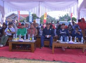 Bupati Kampar, Selamat Hari Jadi Ke-20 Desa Pandau Jaya