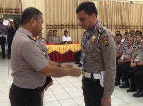 Wakapolda Riau Pimpin Pembukaan Bintek Pelatihan Pra Operasi