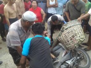 3 Orang Tewas dalam Kecelakaan Lalulintas antara Mobil Pickup dan Sepeda Motor