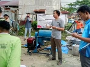 Perusahaan Migas Sei Siak dan PKPU HI Riau Bina Masyarakat Olah Eceng Gondok dari Limbah