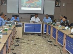 Rapat bersama BPCB Bupati Minta Prioritas Pengembangan 6 Destinasi Wisata Di Kampar