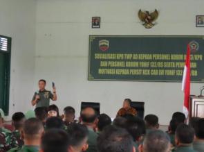 Aspers Kasdam I/BB, Tingkatkan Kesejahteraan Prajurit melalui Program KPR TWP AD