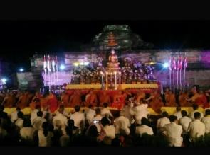 Peringatan Waisak Nasional Pusatkan di Candi Muara Takus