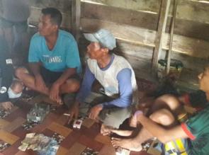 4 Pelaku Judi Qiu-qiu Ditangkap Tim Patroli Polsek Tapung
