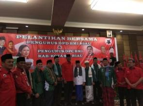 Pelantikan BMI Provinsi Riau di Hadiri Menteri Puan Maharani