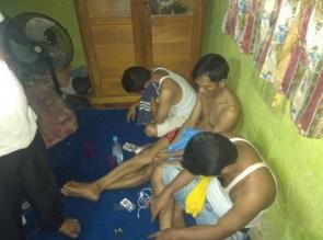 3 Pelaku Narkoba Diringkus Polsek Siak Hulu Disebuah Rumah di Desa Kubang Jaya