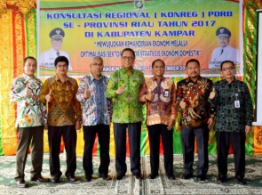 MTQ Provinsi Riau ke 36 Tahun 2017 di Kota Dumai, Kampar Ikuti 7 cabang  dan 22 Golongan.