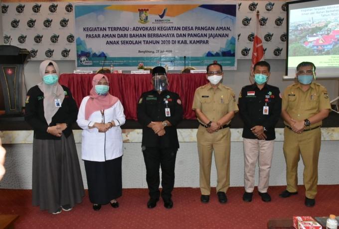Buka Advokasi Pangan, Bupati Ingatkan Jaga Pangan Sehat