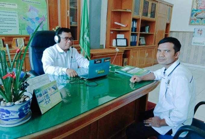Kemenag Kampar Himbau Masyarakat Untuk Memperhatikan Protokol Kesehatan Penyembilahan Hewan Qurban