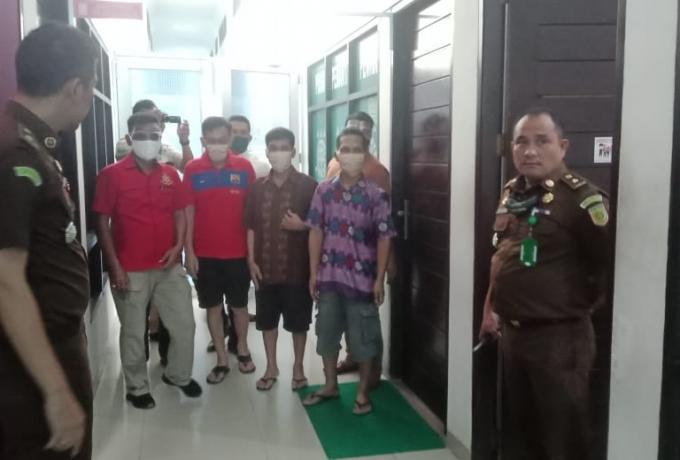 Kasus Tiga Oknum Kades OTT Dilimpahkan Kekejaksaan Negeri Kampar