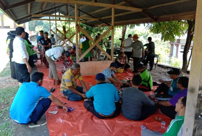 Hari Raya Idul Adha Tahun Ini, Kemenag Kampar Berqurban 2 ekor Kerbau