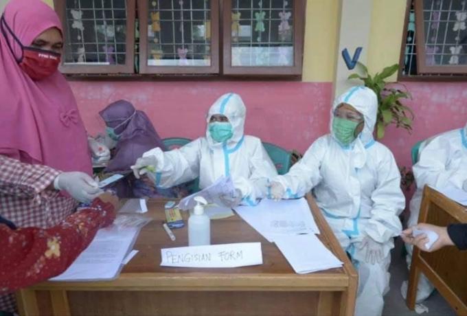 Bayi Berusia 8 Bulan Tertular Covid dan Klaster Nakes Tambah Jumlah Pasien Covid-19 di Kampar