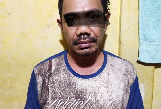 Seorang pria mencuri sepeda gunung diamankan Polsek Bukit Raya