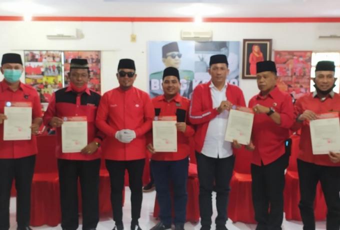 Sah, PDI Perjuangan Umumkan 6 Pasangan Calon Untuk Pilkada Serentak Provinsi Riau