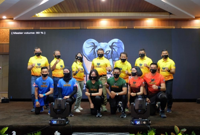 Kapolda Riau Relounching Event Sumatera Jungle Run dengan Jadwal 26-27 September 2020