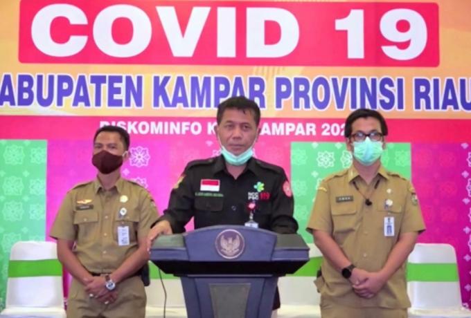 Kasus Positif Covid19 di Kampar Bertambah 42 Orang