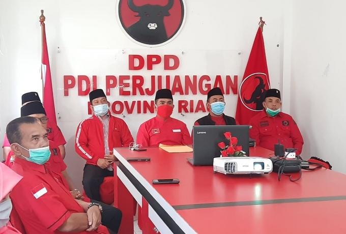 DPP PDI Perjuangan Rekomendasikan Said Ariffadilah - Sujarwo untuk Pilkada Siak