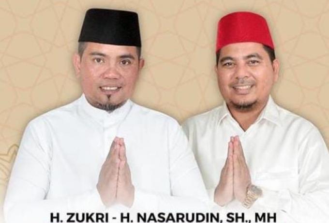 Besok, H. Zukri - Nasarudin Gelar Deklarasi Terbuka Pencalonan Bupati-Wakil Bupati Pelalawan