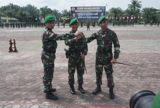 Danrem 031/WB Pimpin Serah Terima Jabatan Danyon Infanteri 132/Bima Sakti