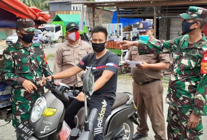 Sinergitas TNI Polri Bersama Pemerintah Gelar Operasi Penerapan Disiplin Protokol Kesehatan Covid 19
