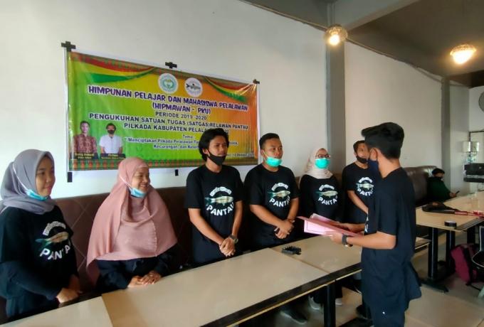 Jelang Pilkada Pelalawan, Hipmawan Bentuk Relawan Pantau