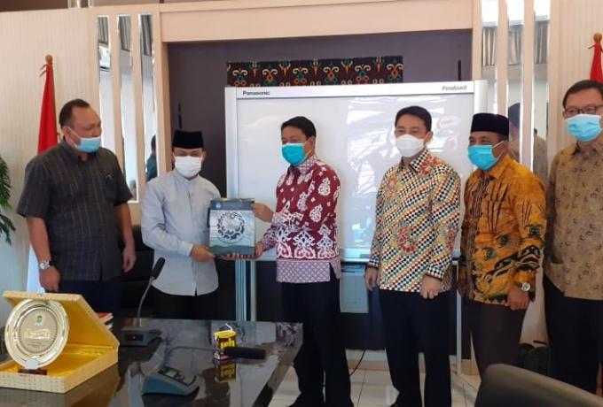 Kunker DPRD Riau, H. Syafaruddin Poti : Kita Dorong Wujudkan Payung Hukum Cagar Budaya Riau