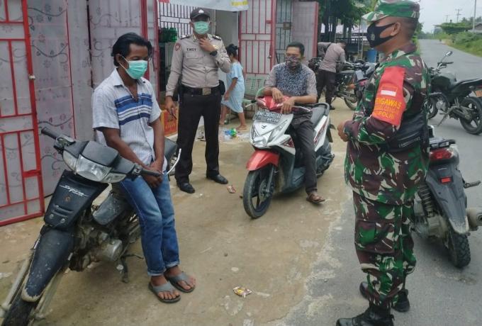 Percepatan Penanganan Covid 19 TNI dan Polri Laksanakan Patroli Yustisi Setiap Hari Diwilayah