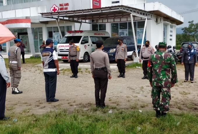 TNI POLRI Dan Satpol PP Gelar Operasi Yustisi