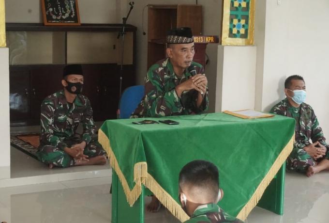 Peringatan Hari Juang TNI AD Tahun 2020, Kodim 0313/KPR Gelar Doa Bersama