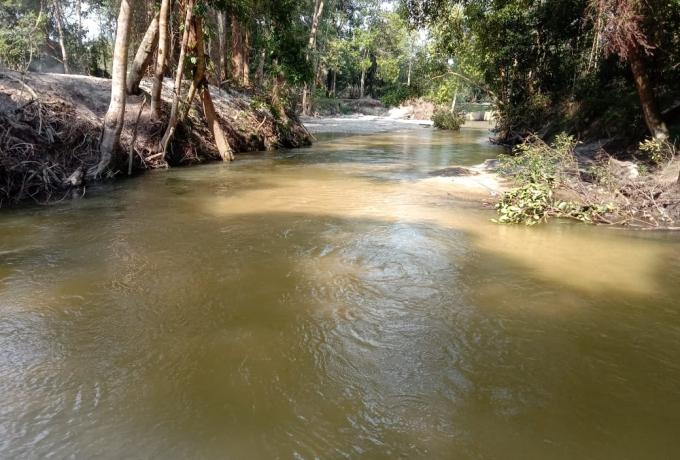 Pemandian Sungai Emas di Desa Petapahan, Objek Wisata Alami Cocok Buat Bersantai Bersama Keluarga