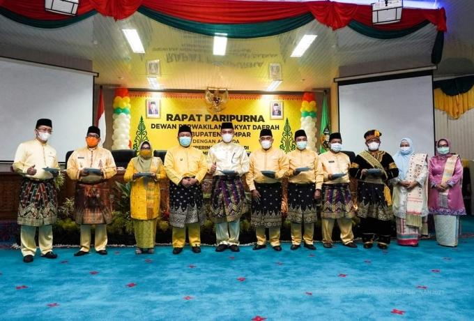 DPRD Kabupaten Kampar Gelar Sidang Paripurna Sambut HUT Kampar Ke 71