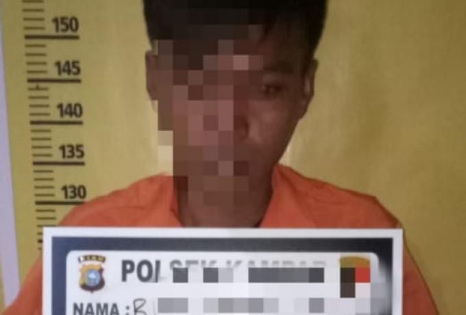 Larikan Anak Gadis Dibawah Umur, Pelaku Ditangkap Unit Reskrim Polsek Kampar di Kota Pekanbaru