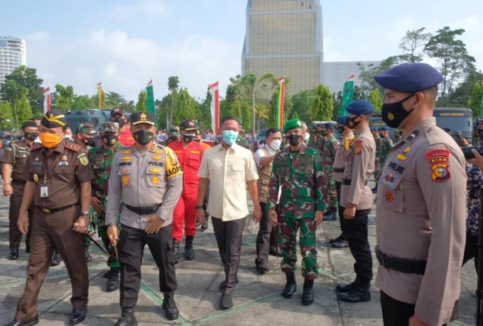 Bentuk Komitmen Tangani Karhutla, Polda Riau Saat ini Proses 9 Tersangka