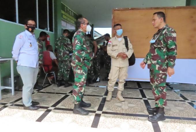Kodim 0313/Kpr Terima Kunjungan Kerja Tim Kodiklat TNI AD