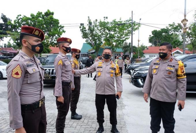 Kapolda Riau Berikan Motivasi kepada Taruna/i Akpol Saat Menggelar Silaturahmi